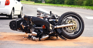 Crashed Motorcycle - Rock Hill & Fort Mill Motorcycle Accident Attorney
