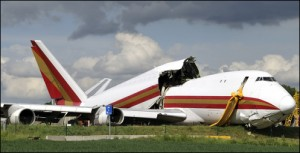 Broken Airplane - Fort Mill & Rock Hill Airplane Accident Attorney