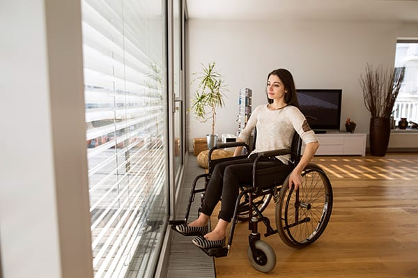 Woman in Wheelchair - Rock Hill Personal Injury Attorney